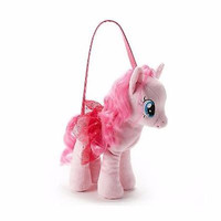 "My Little Pony Pinkie Pie 13"" Plush Character Toy Stuffed Animal Purse-brand new"