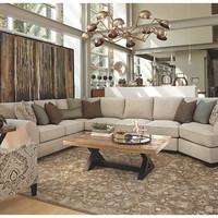 Wilcot 4-Piece Sofa Sectional with Cuddler