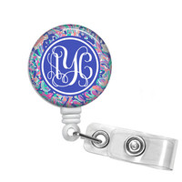 Badge Holder, Retractable Badge Reel - She She Shells
