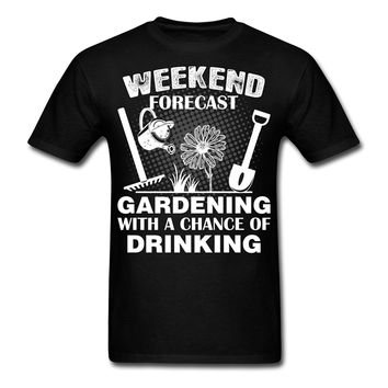 Weekend Forecast Gardening With A Chance Of Drinking - Beer Tee