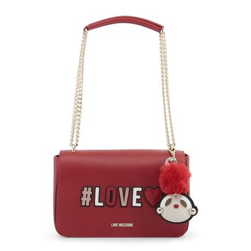 Love Moschino Red Poof Shoulder Bag