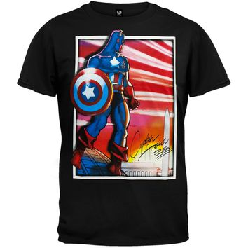 Captain America - Sincerely T-Shirt