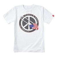 American Safety & Peace 2 Zazzle HEART T-Shirt