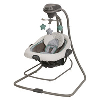 Graco Duet Connect LX Swing and Bouncer in Manor
