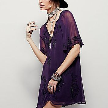 Free People Womens Holiday Nights Dress