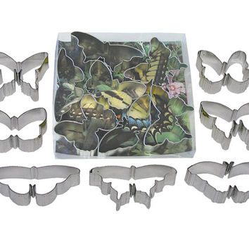 Butterfly COOKIE CUTTER set of 7 butterflies