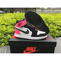 Air Jordan 1 Gs Valentines Day Women Basketball Shoes - Beauty Ticks