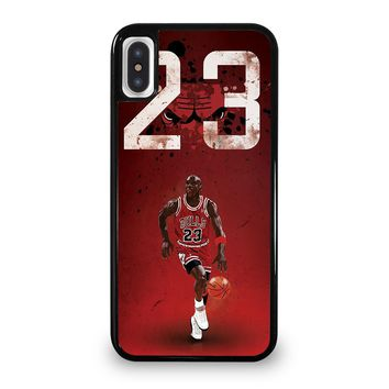 MICHAEL JORDAN 23 iPhone 5/5S/SE 5C 6/6S 7 8 Plus X/XS Max XR Case Cover