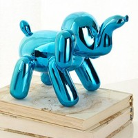 Imm Living Chrome Balloon Elephant, Blue