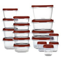 Rubbermaid 34 Pc Easy Find Lids Set
