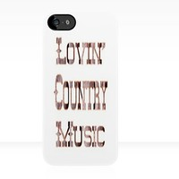 Lovin Country Music - Iphone Case  by sullat04