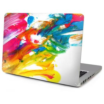 Hot Sale Top Vinyl Decal Laptop Abstract Print Skin Sticker Free Cutting For Apple Macbook Air Pro Retina 11, 12, 13, 15inch