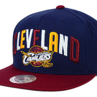 Cleveland Cavaliers NBA Big Poppin Snapback Cap