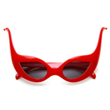 Joker Masquerade Ball Mask Jester Costume Party Sunglasses