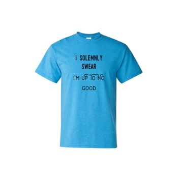 I Solemnly Swear That I Am Up To No Good Short Sleeve Shirt
