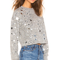 House of Harlow 1960 x REVOLVE Ale Pullover in Heather Grey | REVOLVE