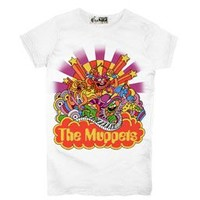 The Muppets Beatle Spoof White Juniors T-Shirt