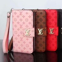 LV Louis Vuitton 2018 summer new iphone6S mobile phone sets F-OF-SJK