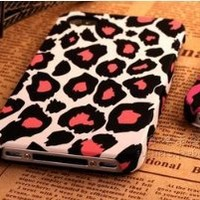 Amazon.com: Cute White leopard Hello Kitty Ultra thin Scrub PC Soft Case Cover for iphone 4 4S: Arts, Crafts & Sewing