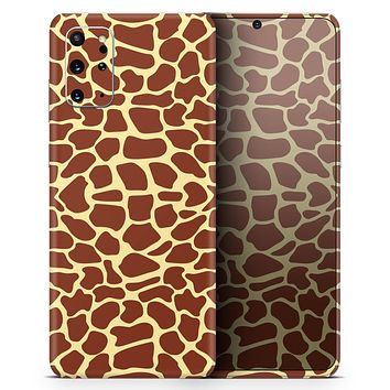 Simple Vector Giraffe Print - Skin-Kit for the Samsung Galaxy S-Series S20, S20 Plus, S20 Ultra , S10 & others (All Galaxy Devices Available)