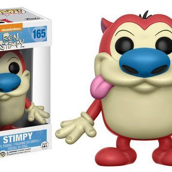 Funko Pop Animation Ren & Stimpy Stimpy 165 12114