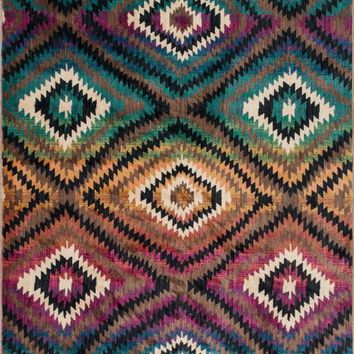 Loloi Sierra Brown / Multi Area Rug