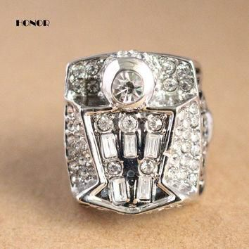 Fashion Argent mens sport jewelry 1998 fashion sports Jordan replica championship ring