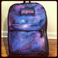 Handpainted Galaxy backpack by ZOclothEs on Etsy