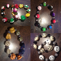 SPRING CLEARANCE! Misc. Gamer Themed Bracelets - Pokemon, Mario and Disney Themed