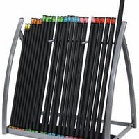 Troy Weighted Bar Set W/Rack