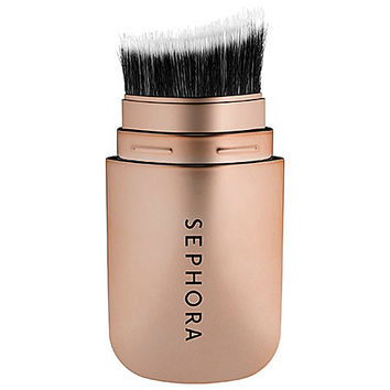 SEPHORA COLLECTION Hide and Sleek Skinny Cheek Contour Brush (Rose Gold)