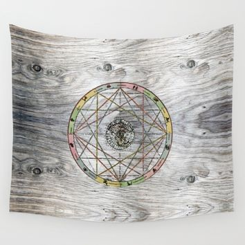 The jocular procreations of space Wall Tapestry by anipani