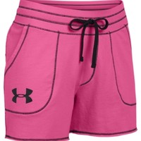"Under Armour Women's Pretty Gritty 4"" French Terry Shorts"