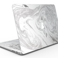 Mixtured Gray v6 Textured Marble - MacBook Air Skin Kit