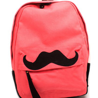 fancy-mustache-backpack ROSE TEAL - GoJane.com