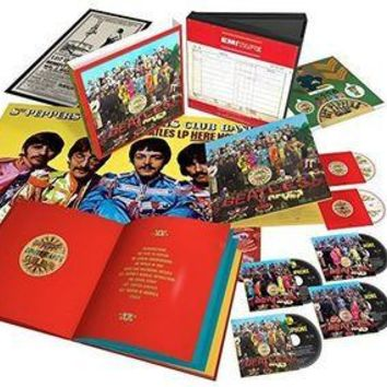 Sgt. Pepper's Lonely Hearts Club Band - The Beatles, CD Deluxe (Pre-Owned)