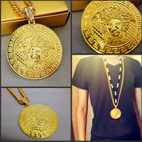 Stylish Shiny Gift New Arrival Jewelry Chain Club Necklace [6542717699]