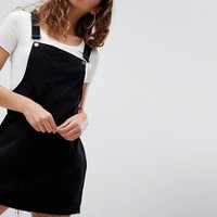 Pull&Bear Classic Overall Dress at asos.com