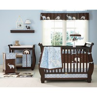 Carter's 4-pc. Elephant Crib Set - Blue