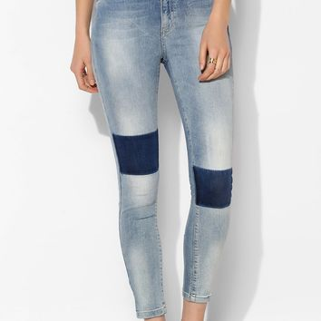 Just Female Peg Patch Skinny Jean - Urban Outfitters