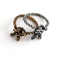 Climber's knot ring