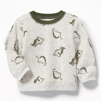 Graphic Fleece Sweatshirt for Baby|old-navy
