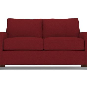 Melrose Twin Size Sleeper Sofa in BERRY - CLEARANCE