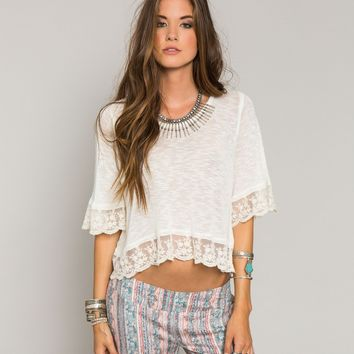 LAKESIDE CROP TOP