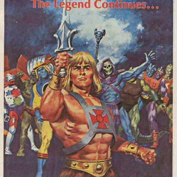 He-Man and the Masters of the Universe 11x17 Movie Poster (1983)