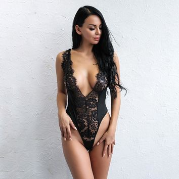 Midnight Lace Bodysuit