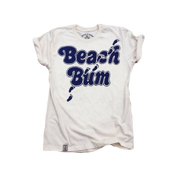 Beach Bum: Organic Fine Jersey Short Sleeve T-Shirt