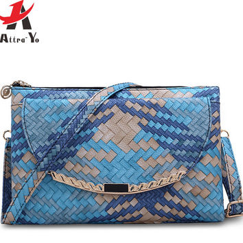 Atrra-Yo! women handbag day clutch women bags purse messenger bags in shoulder bag high quality purse pouch bolsos LS8205ay