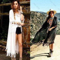 MAXI CHIFFON CARDIGAN BOHO KIMONO KAFTAN TOPS BEACH COVER UP