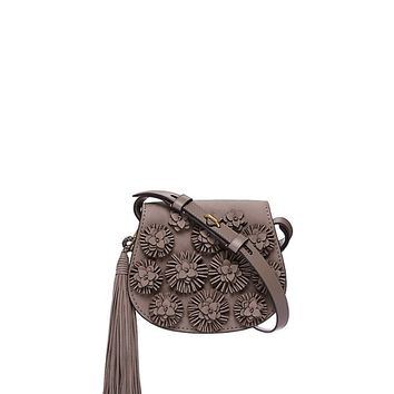 Tory Burch Rosette Mini Saddlebag